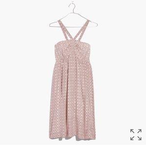 Madewell Silk Convertible Halter Dress NWT - L/12